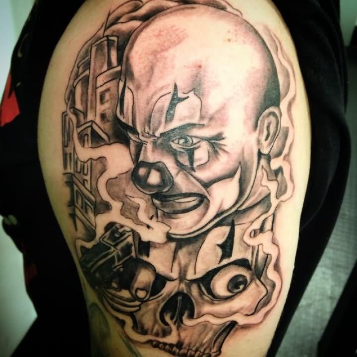 Imagenes de Tatuajes de Payasos
