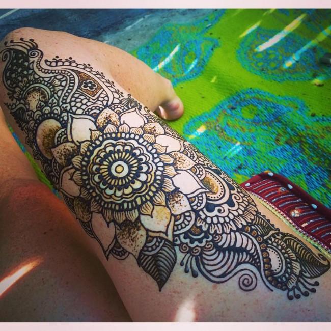 Imagenes de Tatuajes de Mujer en las Piernas 7 Tatuajes de Mujer en la Pierna