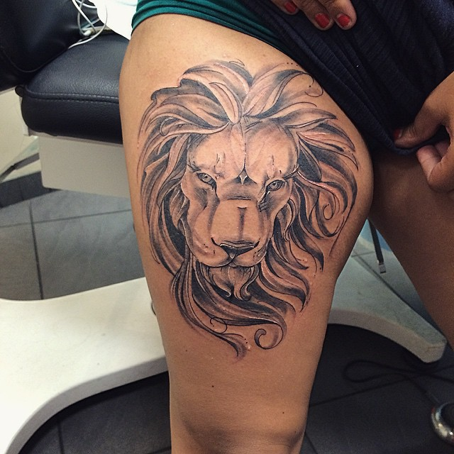 Imagenes de Tatuajes de Mujer en las Piernas 9 Tatuajes de Mujer en la Pierna