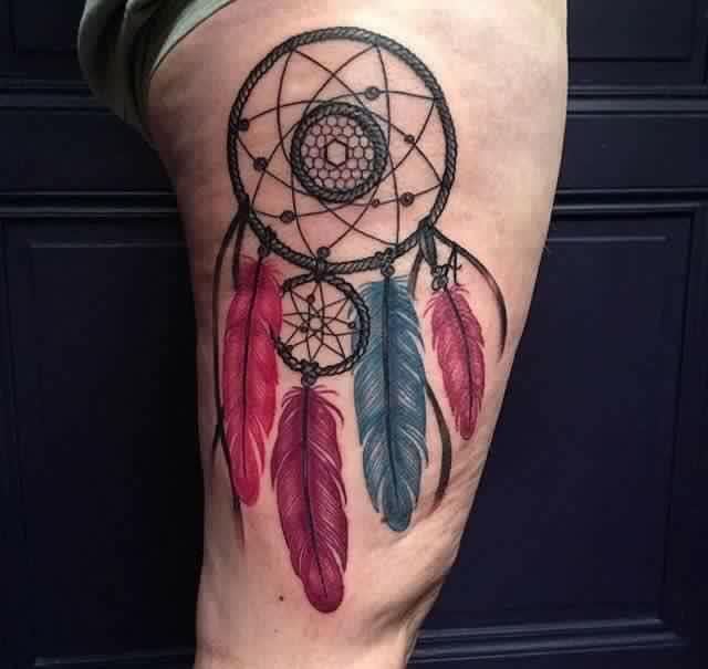 Imagenes de tatuajes de atrapasuenos 173 Tatuajes de Atrapasueños