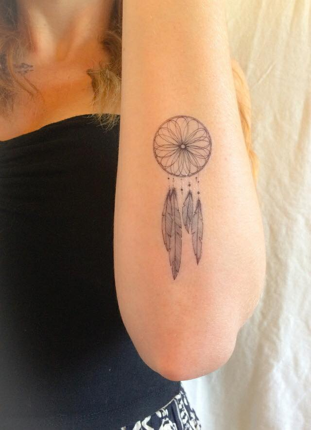 Imagenes de tatuajes de atrapasuenos 175 Tatuajes de Atrapasueños