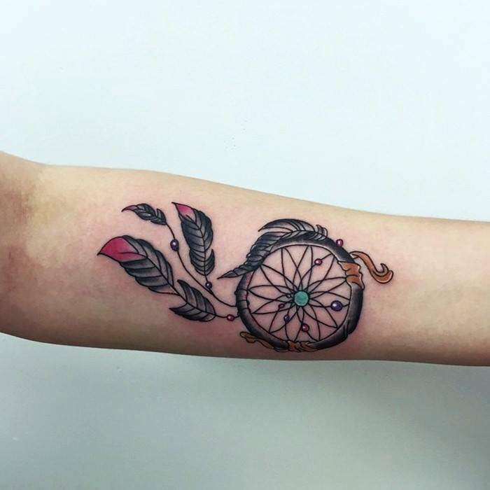 Imagenes de tatuajes de atrapasuenos 8 Tatuajes de Atrapasueños