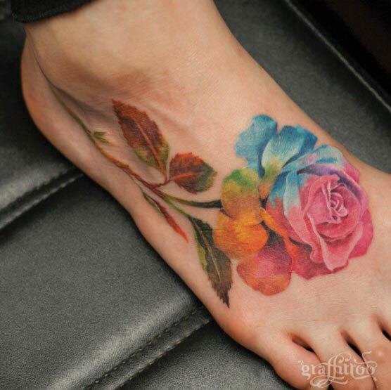 Tatuajes de Flores o Rosas Tatuajes Para Mujeres y Hombres