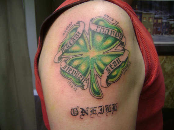 Imagenes de tatuajes de trebol 1 Imagenes de Tatuajes de trebol