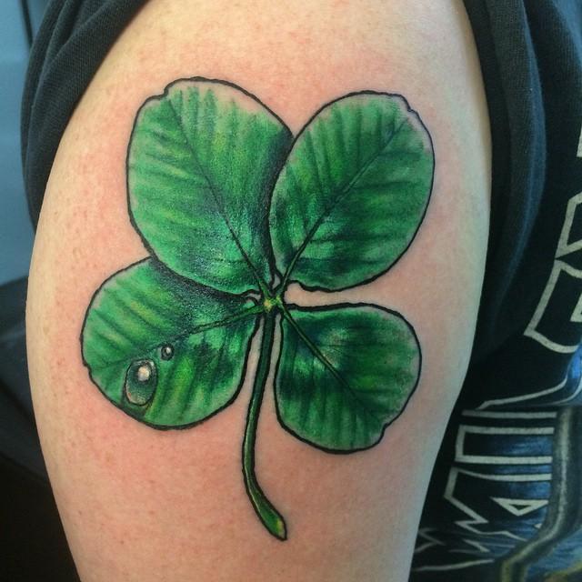 Imagenes de Tatuajes de trebol