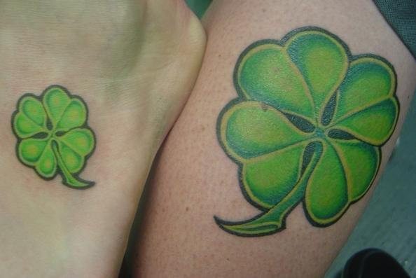 Imagenes de tatuajes de trebol 21 Imagenes de Tatuajes de trebol