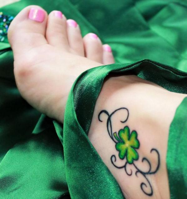 Imagenes de tatuajes de trebol 30 Imagenes de Tatuajes de trebol
