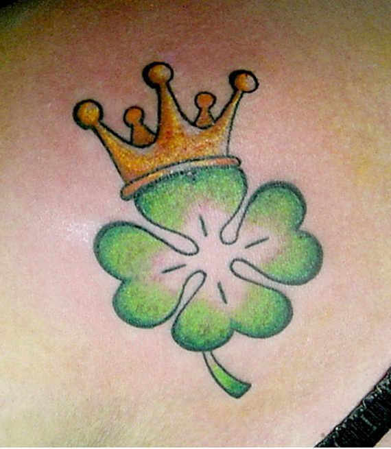 Imagenes de tatuajes de trebol 4 Imagenes de Tatuajes de trebol