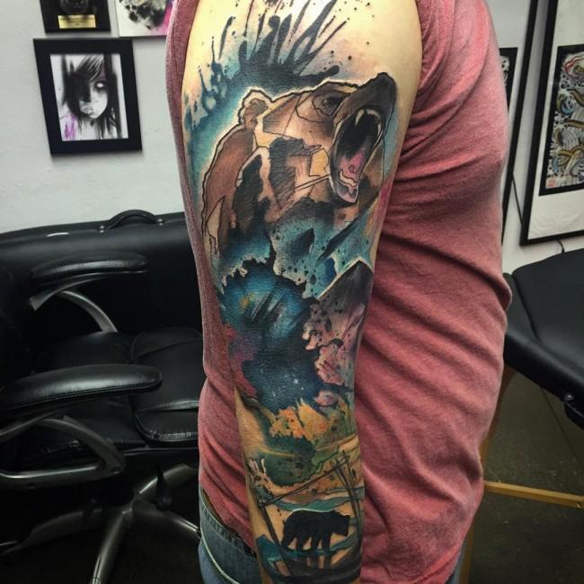 Los Tatuajes de Osos mas Impresionantes y su Significado