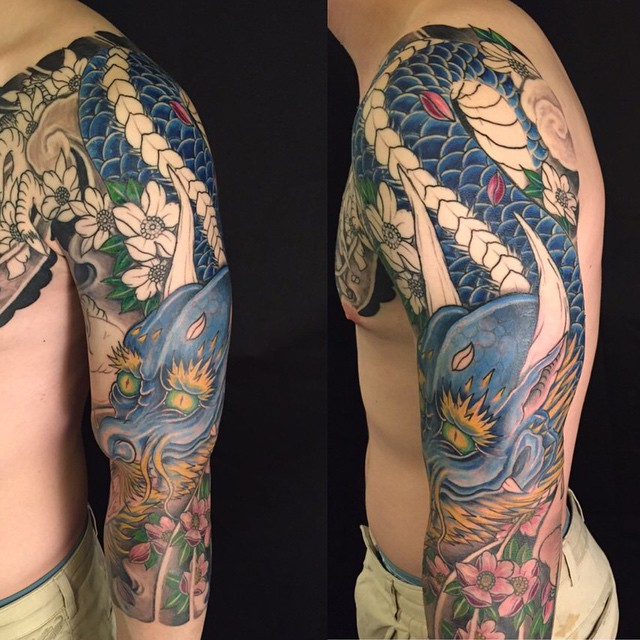 Los mejores Diseños de Tatuajes de Dragones