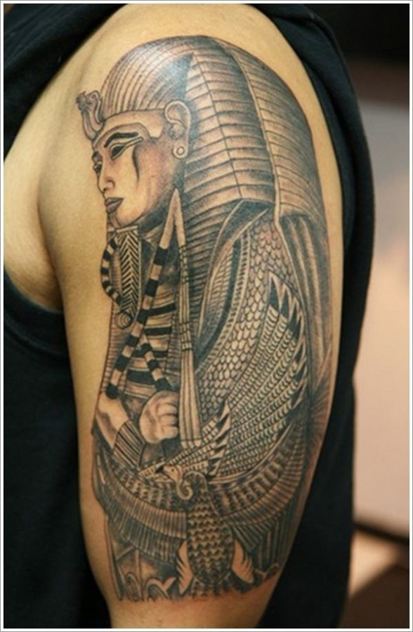 foto de tatuaje egipcio Imagenes de Tatuajes Egipcios