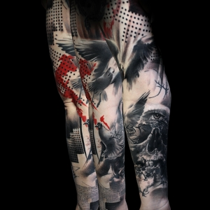 Imagenes de Tatuajes de Manga Completa