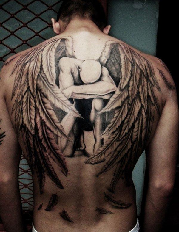 Imagenes de Tatuajes de Angeles