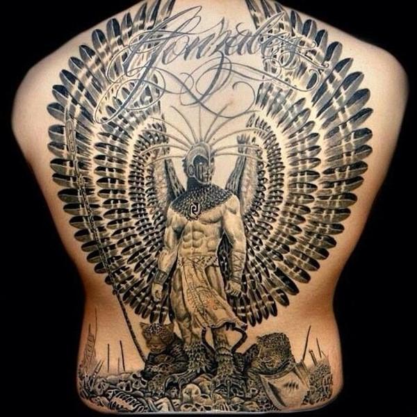 Los Diseños Mas Impresionantes De Tatuajes Aztecas Tatuajes Para