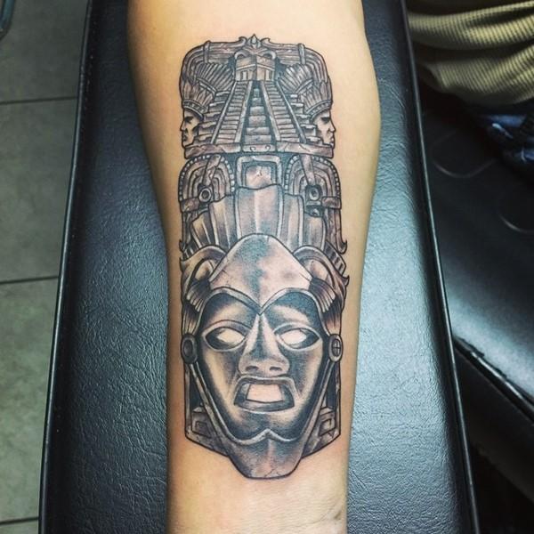 Los Diseños Mas Impresionantes de Tatuajes Aztecas