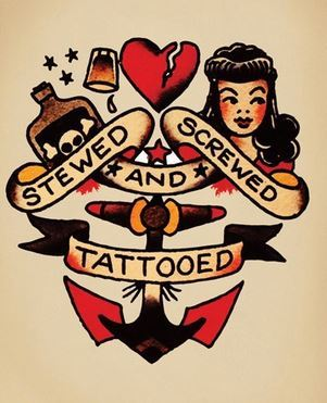 Imagenes de Tatuajes de la Vieja Escuela