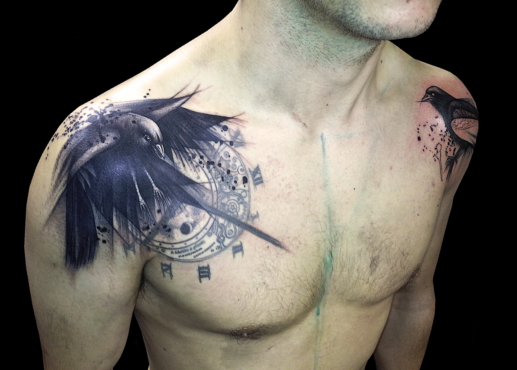 Los Mejores Tatuajes de Cuervos y su Significado