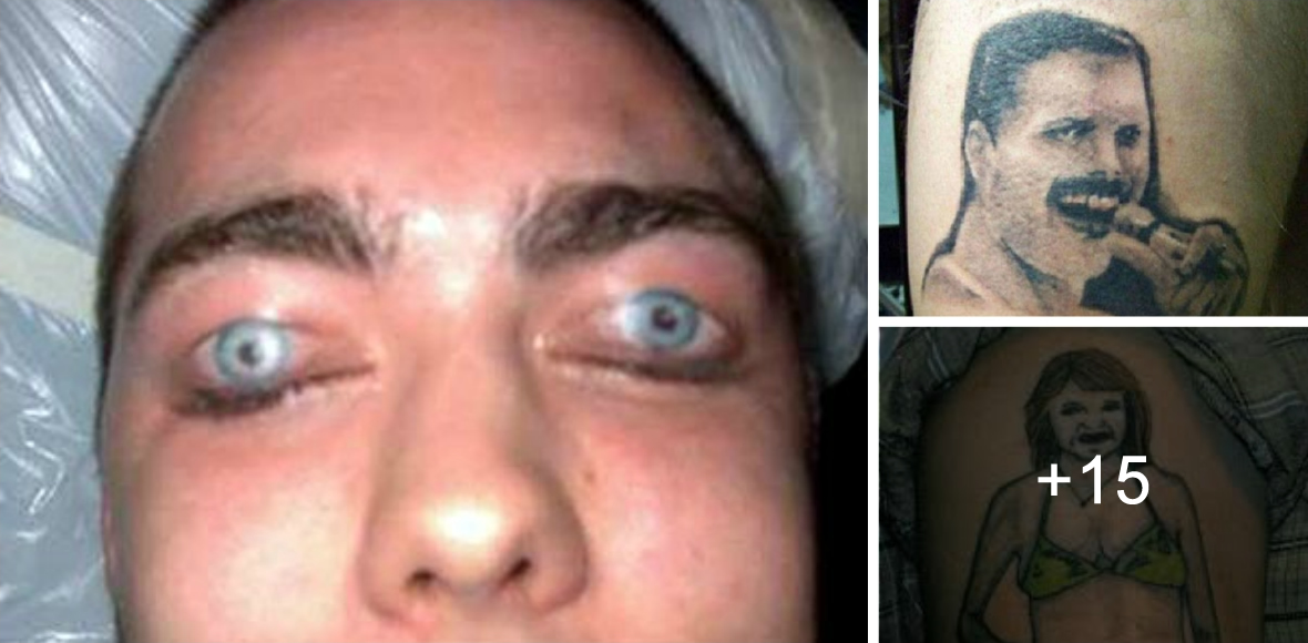 Los Peores Tatuajes del Mundo