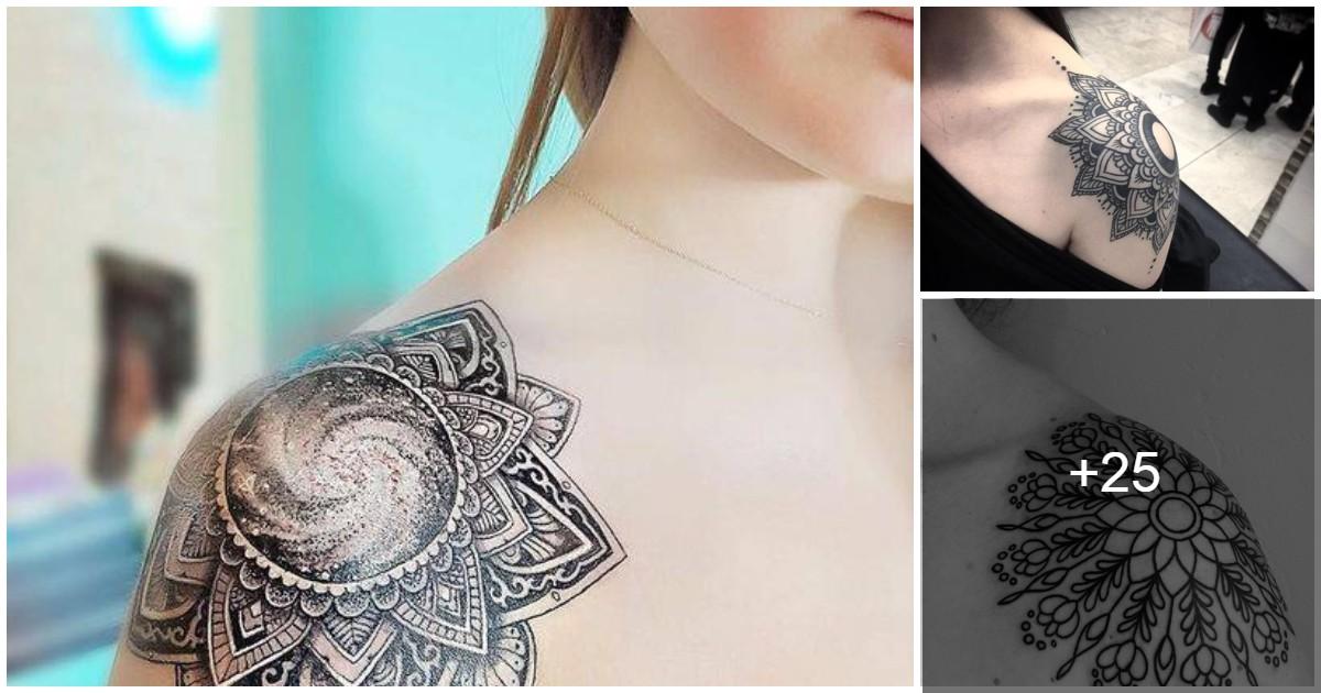 Las 25 Mejores Ideas Sobre Tatuaje En El Hombro De Mandala