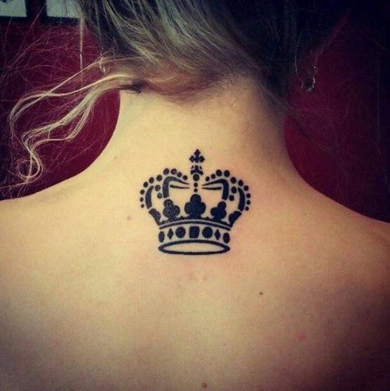 tatto de mujer corona Imágenes de Tatuajes de Coronas