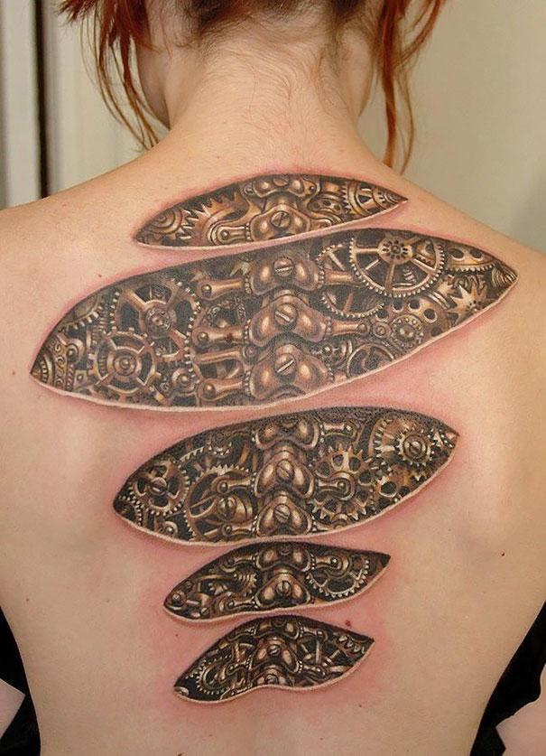 Imagenes de Tatuajes 3D