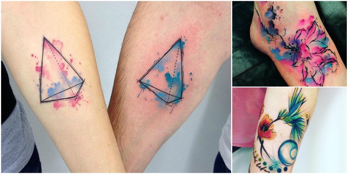 Imagenes de Tatuajes Acuarela