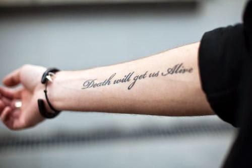 Imagenes de Tatuajes con Letras