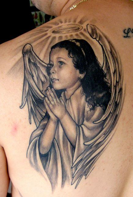 tatuaje de angel bebe Imagenes de Tatuajes de Angeles