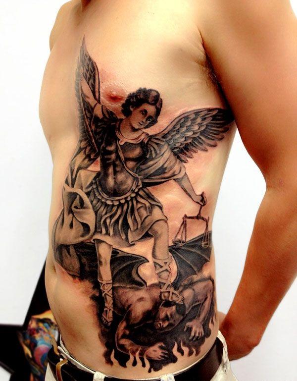 tatuaje de angel grande Imagenes de Tatuajes de Angeles