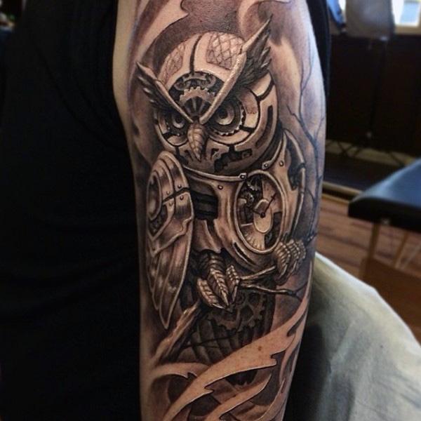 Imagenes de Tatuajes de Buhos