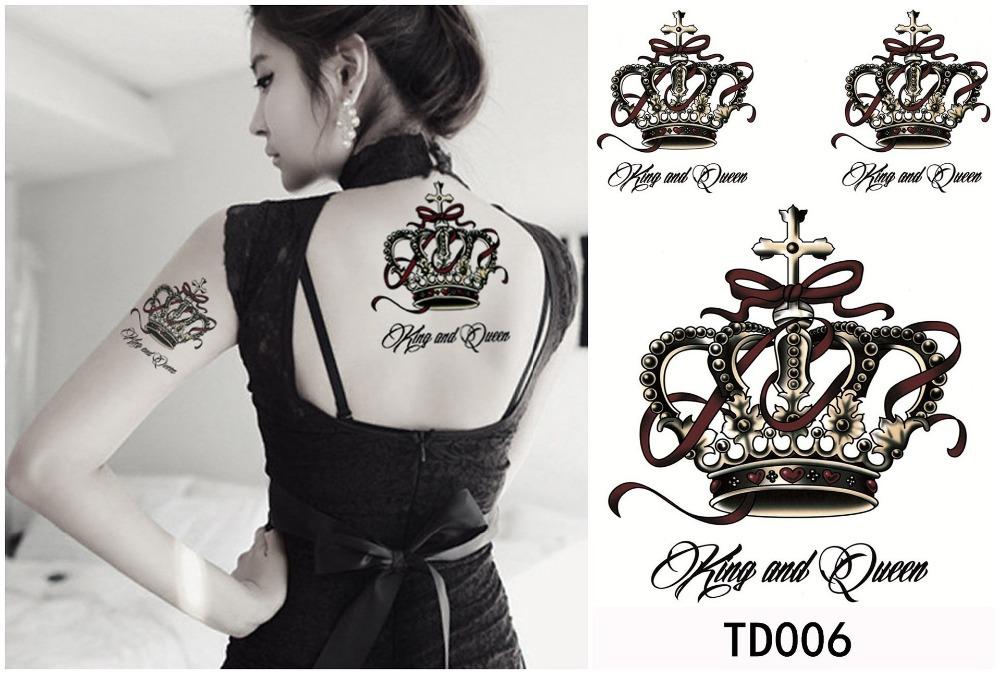 tatuaje de corona para mujer Imágenes de Tatuajes de Coronas