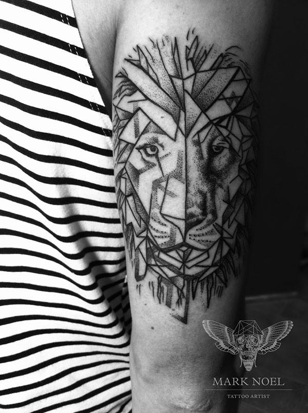 Imagenes de Tatuajes de Leones