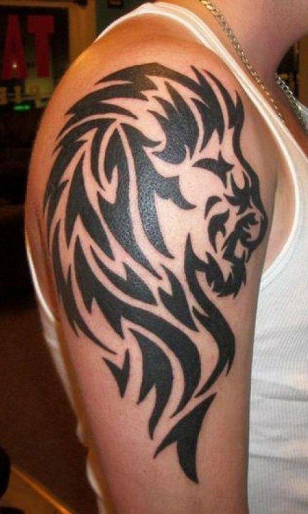 tatuaje de leon tribal Imagenes de Tatuajes Tribales