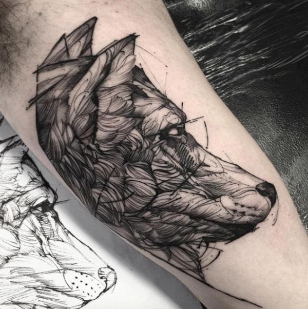 Imagenes de tatuajes de lobos tatuajes para mujeres y for Calavera lobo