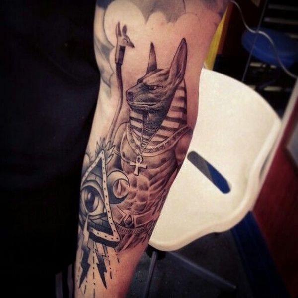 tatuaje de manga egipcia Imagenes de Tatuajes de Angeles