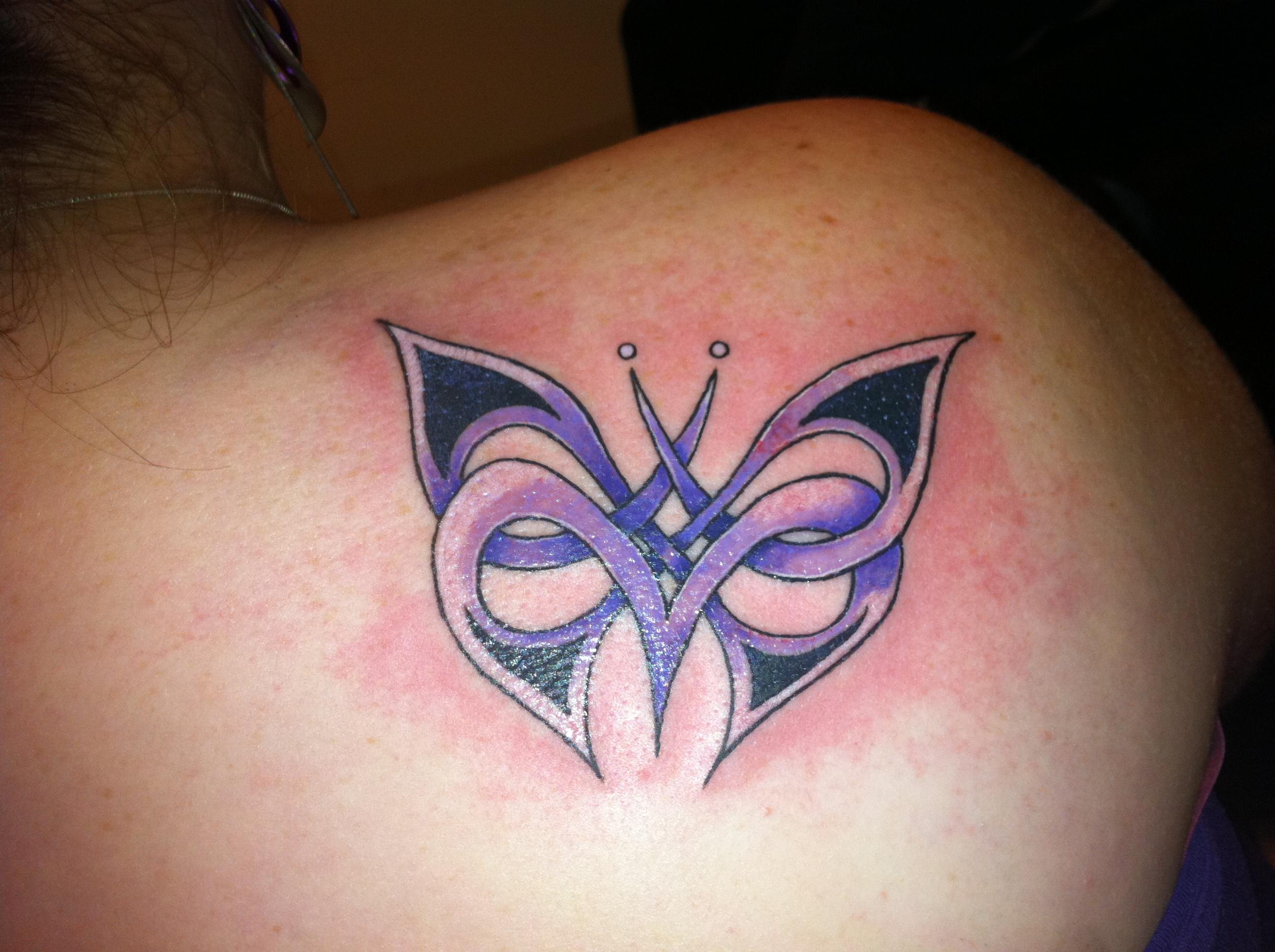 tatuaje de mariposa tribal Imagenes de Tatuajes Tribales