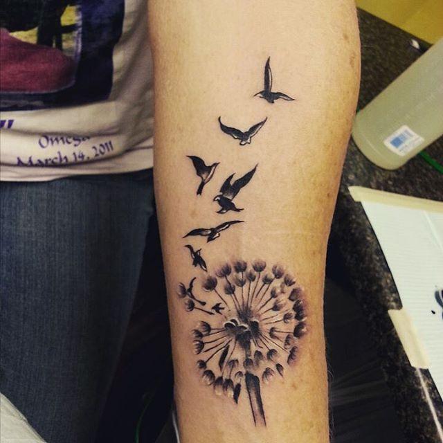Tatuajes de Diente de León