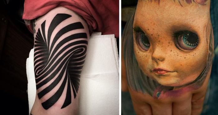 tatuaje en 3d Imagenes de Tatuajes 3D