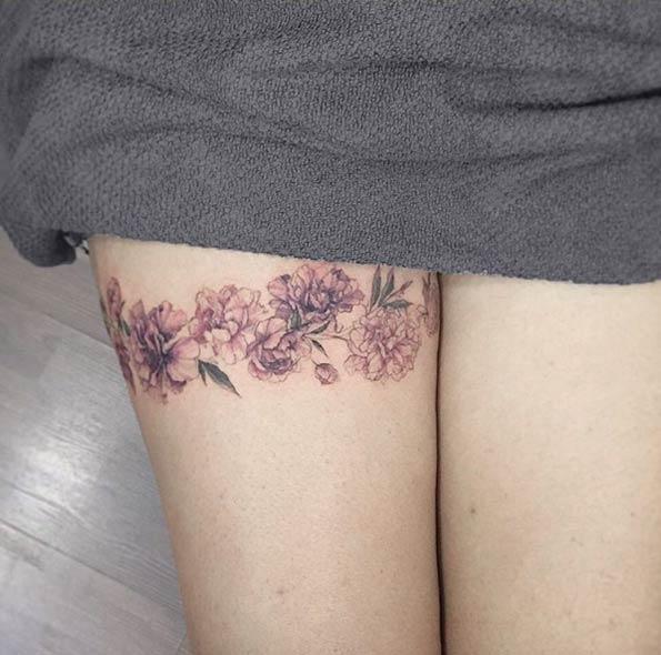 Los Mejores Diseños de Tatuajes de Mujer en la Pierna