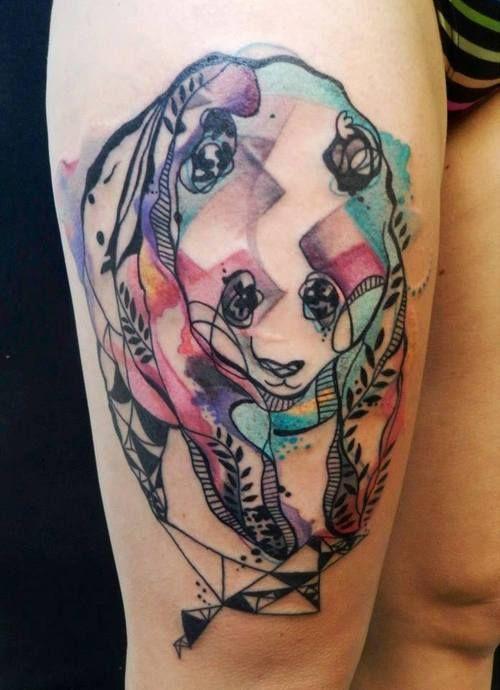 Los Tatuajes De Osos Mas Impresionantes Y Su Significado Tatuajes