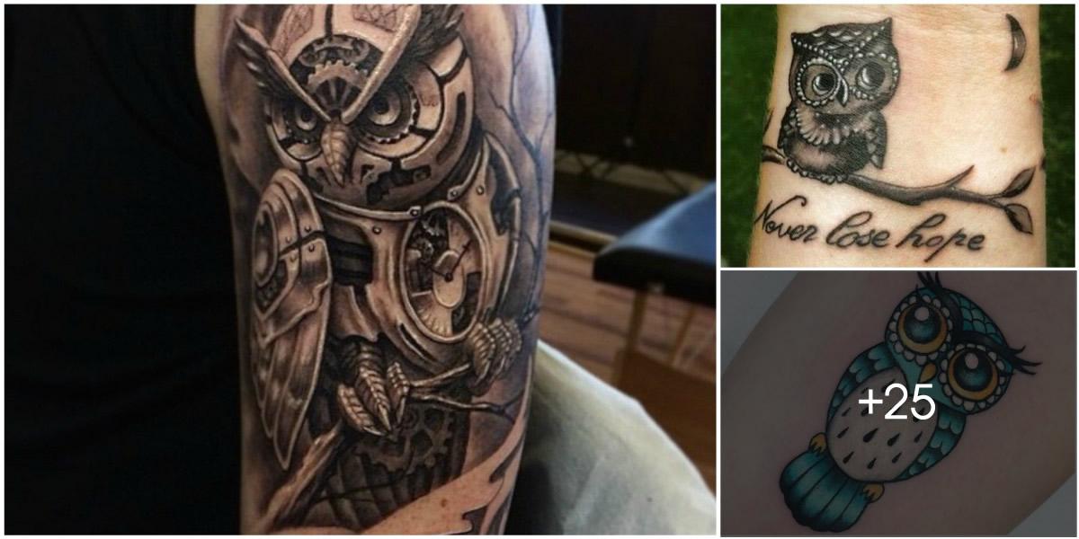 Imagenes De Tatuajes De Buhos Tatuajes Para Mujeres Y Hombres