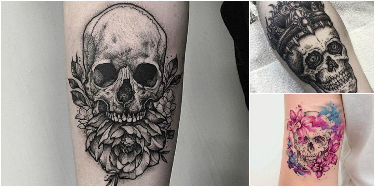 Imágenes De Tatuajes De Calaveras Tatuajes Para Mujeres Y Hombres