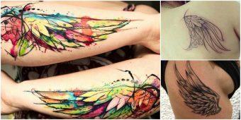 tatuajes de alas face