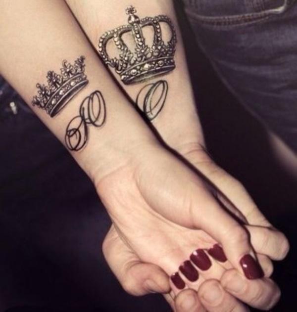 tatuajes de coronas Imágenes de Tatuajes de Coronas