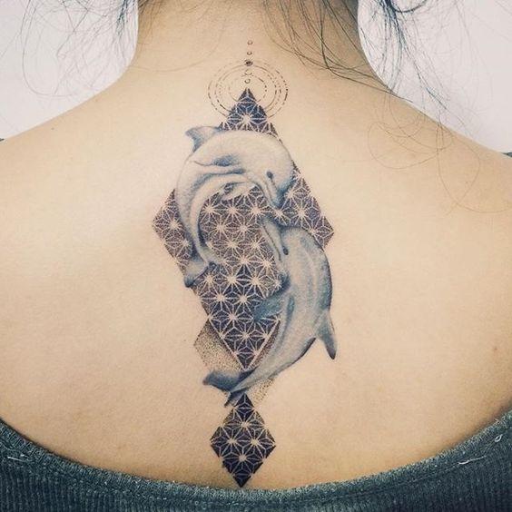 Imagenes de Tatuajes de Delfines