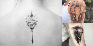 Imagenes de Tatuajes de Elefantes