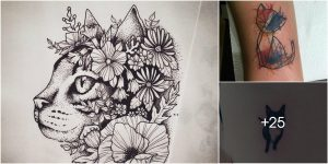 Los Mejores Diseños de Tatuajes de Gatos
