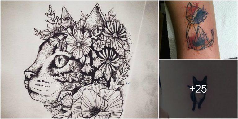 los mejores dise os de tatuajes de gatos tatuajes para