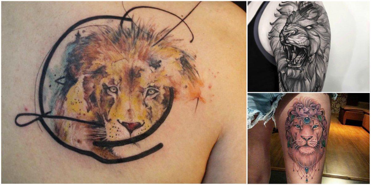Leon Tatuajes Para Mujeres Y Hombres