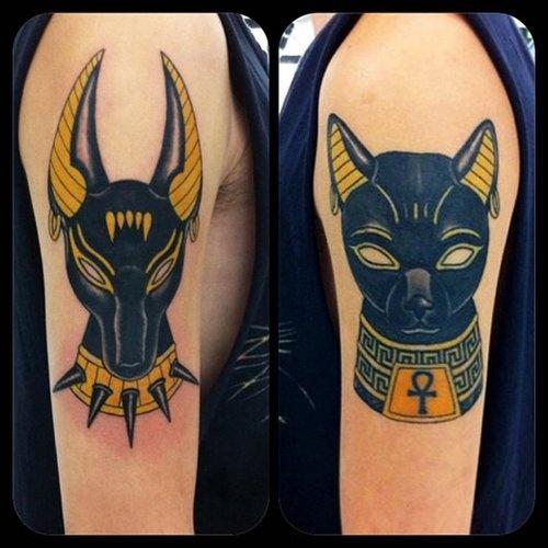 tatuajes egipcios en el brazo Imagenes de Tatuajes Egipcios